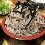源氏 - お蕎麦もたっぷり