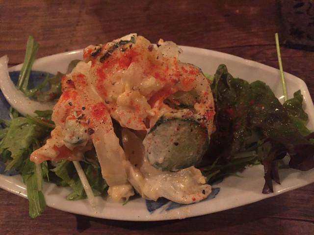 にと - ポテトサラダ