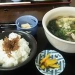 かま田 - 料理写真:おうどん定食