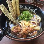 元祖肉肉うどん - 肉ごぼう天うどん=750円