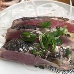 田中鮮魚店 - やっぱ塩タタキだね~♬