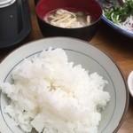 田中鮮魚店 - ご飯が、また美味かった♬