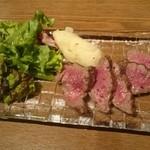 黒毛和牛一頭買い肉バル デルソーレ - グリルステーキ クリ