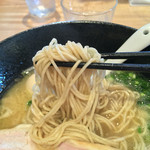 麺道楽 神楽や - 濃潤の細麺