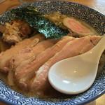 麺道楽 神楽や - 焼豚中華そば