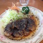 つかさ - 黒ごまタップリ甘酢ソース唐揚げ