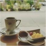 Cafe GA楽 - コーヒー ¥400-