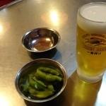 ケイストーリー - お通しとビール