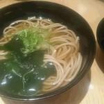 ホテルニュータガワ 日本料理 雫 - 蕎麦