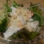 ホテルニュータガワ 日本料理 雫 - シーザーサラダ