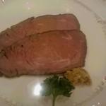ホテルニュータガワ 日本料理 雫 - ローストビーフ