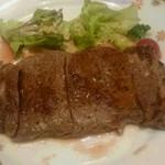 ホテルニュータガワ 日本料理 雫 - サーロインステーキ