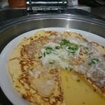ブッフェスタイル アソート - 中華風卵焼き彩りあんかけソース