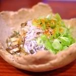 Oyajinokura - 釜揚げしらす薬味和え