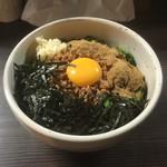 麺や 雫 - 台湾混ぜそば