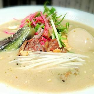 新潟 三宝亭 東京ラボ - 料理写真:ふぉあぐらー麺  (期間限定)