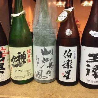 日本酒にこだわりあり!!