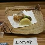 黒門徳乃介 - 白身魚のから揚げ