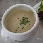 Cafe Gourmand - キクイモのスープ
