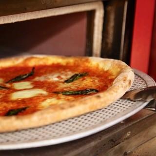『ピザ釜』で焼く、全5種類のPIZZA