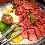 河内屋炭火焼肉 - 料理写真:きわみセット 4100円