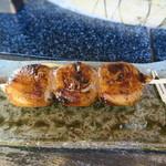 へるんの小径 - 桜餅に味噌