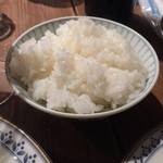 秀 - キッチン秀のCセット、ごはん(16'02)
