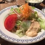 秀 - キッチン秀のCセット、サラダ(16'02)