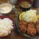 50662159 - カキフライ定食