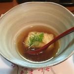 いっしん - 湯葉豆腐の揚げだし