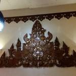 タイ・ベトナム料理の店 アジアの味 - 異国っぽい飾り