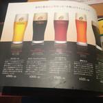 50666544 - 恵比寿ビールは5種類
