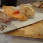 粋魚 - 炙り4貫