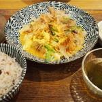 沖縄食堂ハイサイ HEPナビオ店 - ゴーヤチャンプルー定食♪