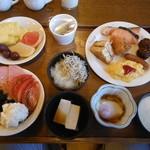 やまびこ荘 - 料理写真:朝食