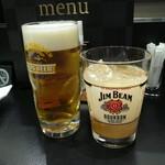 Lunch&Beer SUN  - キリン生とハイビーム(グレープフルーツ)