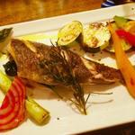 taverna minimo - 鮮魚の香草焼き
