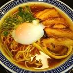 東京らあめんタワー - (^0_0^) チャーシュー麺❤温泉玉子 トッピンΣb( `・ω・´)グッ❤