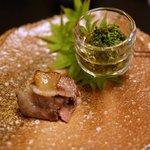 Shinohara - 三雲猪ロース肉・花山椒の甘酢漬け