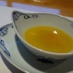 鉄板焼なか乃 - パブリカとインカの目覚めのスープ・・マイルドテイストです。