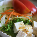 ねむの木 - ドリアに付いているサラダ