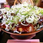 洋食亭 寅安 - 特製味噌カツ丼。2012年撮影。