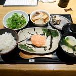 焼はまぐりる - 週替り定食¥1000