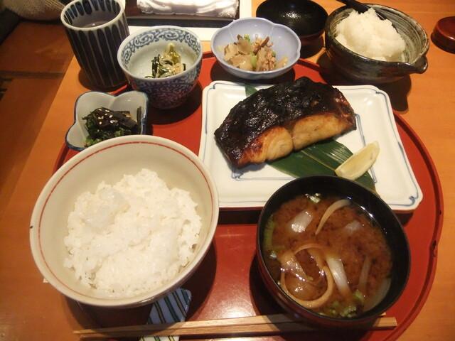 旬の味 たき下 - 黒むつの柚香焼き定食