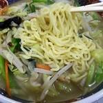 俵屋 - タンメン麺