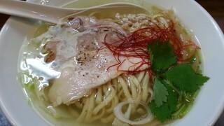 鶏そば  ムタヒロ 2号店 - ダハハ鶏塩そば 2016.5