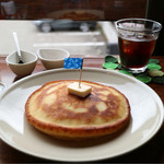 カフェ ヒラナガ - ホットケーキ *シングル