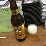 八栄亭 下店 - 大瓶ビール