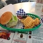 アンテナアメリカ - ハンバーガー ポテト付き