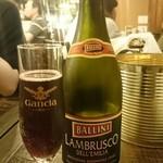イタリアン酒場 TAKEYA - ランブルスコ¥2800